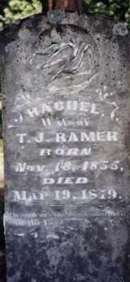RAMER, RACHEL - Greene County, Arkansas | RACHEL RAMER - Arkansas Gravestone Photos