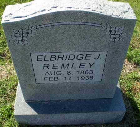 REMLEY, ELBRIDGE J - Greene County, Arkansas | ELBRIDGE J REMLEY - Arkansas Gravestone Photos