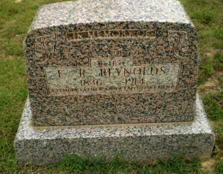 REYNOLDS, E. R. - Greene County, Arkansas | E. R. REYNOLDS - Arkansas Gravestone Photos