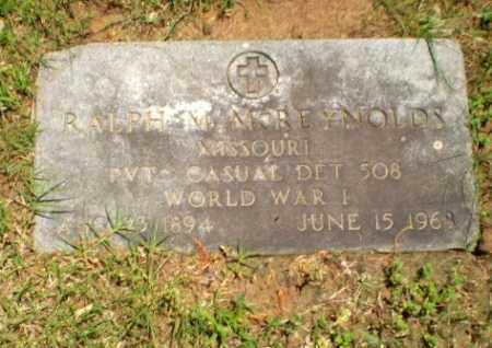 REYNOLDS (VETERAN WWI), RALPH M - Greene County, Arkansas | RALPH M REYNOLDS (VETERAN WWI) - Arkansas Gravestone Photos