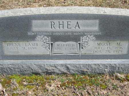 LAMB RHEA, IRENE - Greene County, Arkansas | IRENE LAMB RHEA - Arkansas Gravestone Photos