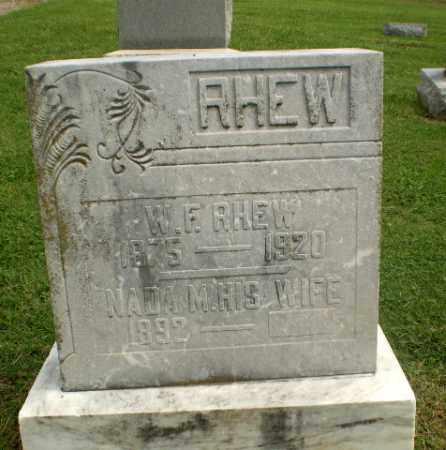 RHEW, W.F. - Greene County, Arkansas | W.F. RHEW - Arkansas Gravestone Photos
