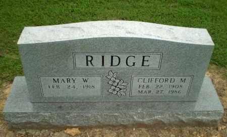 RIDGE, CLIFFORD M - Greene County, Arkansas | CLIFFORD M RIDGE - Arkansas Gravestone Photos