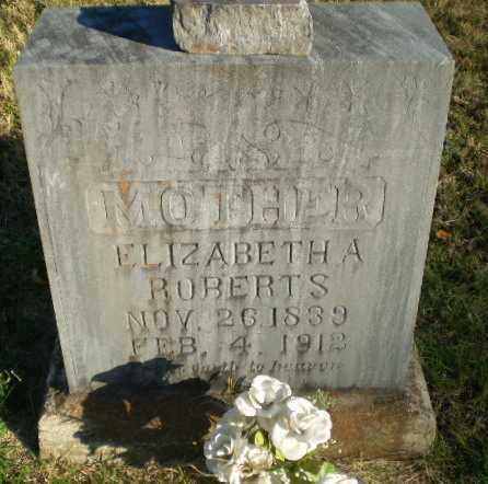 ROBERTS, ELIZABETH A - Greene County, Arkansas | ELIZABETH A ROBERTS - Arkansas Gravestone Photos