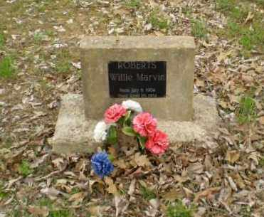 ROBERTS, WILLIE MARVIN - Greene County, Arkansas   WILLIE MARVIN ROBERTS - Arkansas Gravestone Photos
