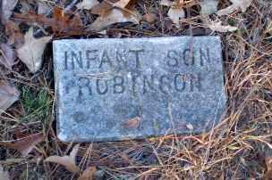 ROBINSON, INFANT SON - Greene County, Arkansas | INFANT SON ROBINSON - Arkansas Gravestone Photos