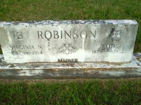 ROBINSON, LON - Greene County, Arkansas | LON ROBINSON - Arkansas Gravestone Photos