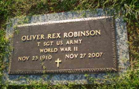 ROBINSON (VETERAN WWII), OLIVER REX - Greene County, Arkansas   OLIVER REX ROBINSON (VETERAN WWII) - Arkansas Gravestone Photos