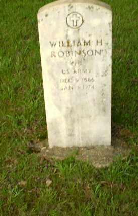 ROBINSON  (VETERAN), WILLIAM - Greene County, Arkansas | WILLIAM ROBINSON  (VETERAN) - Arkansas Gravestone Photos