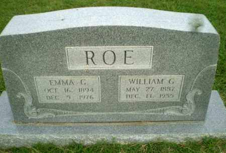 ROE, WILLIAM G - Greene County, Arkansas | WILLIAM G ROE - Arkansas Gravestone Photos