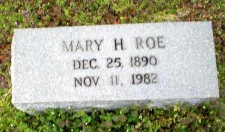 ROE, MARY H - Greene County, Arkansas   MARY H ROE - Arkansas Gravestone Photos