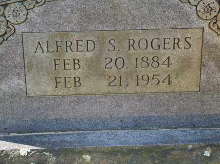 ROGERS, ALFRED S. - Greene County, Arkansas | ALFRED S. ROGERS - Arkansas Gravestone Photos