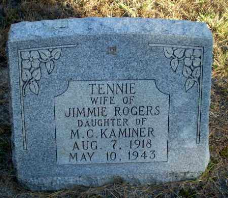 KAMINER ROGERS, TENNIE - Greene County, Arkansas   TENNIE KAMINER ROGERS - Arkansas Gravestone Photos