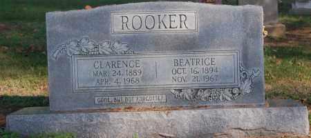 ROOKER, CLARENCE - Greene County, Arkansas   CLARENCE ROOKER - Arkansas Gravestone Photos