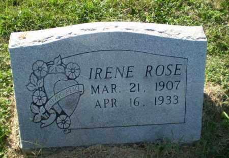 ROSE, IRENE - Greene County, Arkansas | IRENE ROSE - Arkansas Gravestone Photos