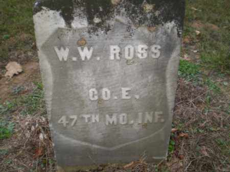 ROSS  (VETERAN UNION), WILLIAM WESLEY - Greene County, Arkansas | WILLIAM WESLEY ROSS  (VETERAN UNION) - Arkansas Gravestone Photos