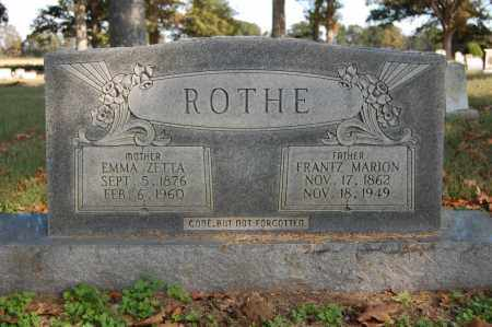 ROTHE, EMMA ZETTA - Greene County, Arkansas | EMMA ZETTA ROTHE - Arkansas Gravestone Photos