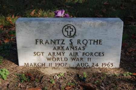 ROTHE (VETERAN WWII), FRANTZ S - Greene County, Arkansas | FRANTZ S ROTHE (VETERAN WWII) - Arkansas Gravestone Photos