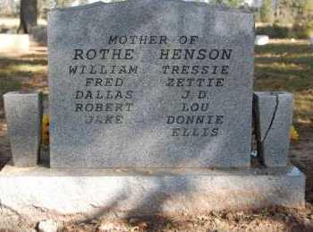 VARNER ROTHE, HENSON, MYRTLE CALLIE - Greene County, Arkansas | MYRTLE CALLIE VARNER ROTHE, HENSON - Arkansas Gravestone Photos