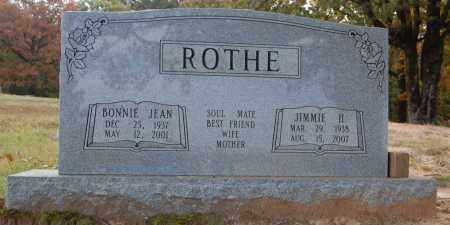 ROTHE, JIMMIE H. - Greene County, Arkansas | JIMMIE H. ROTHE - Arkansas Gravestone Photos