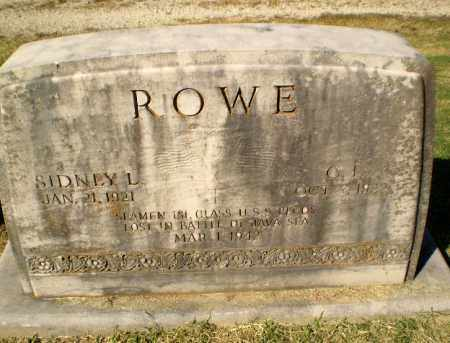 ROWE (VETERAN WWII, KIA), C.L. - Greene County, Arkansas | C.L. ROWE (VETERAN WWII, KIA) - Arkansas Gravestone Photos