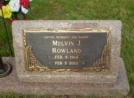 ROWLAND, MELVIN J - Greene County, Arkansas | MELVIN J ROWLAND - Arkansas Gravestone Photos