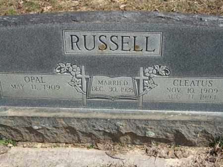 RUSSELL, CLEATUS - Greene County, Arkansas | CLEATUS RUSSELL - Arkansas Gravestone Photos