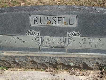 RUSSELL, CLEATUS - Greene County, Arkansas | CLEATUS RUSSELL - Arkansas Gravestone Photos