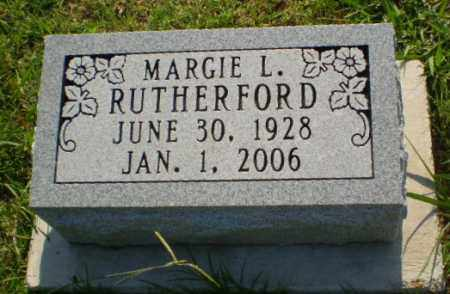 RUTHERFORD, MARGIE L - Greene County, Arkansas | MARGIE L RUTHERFORD - Arkansas Gravestone Photos