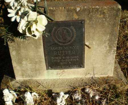RUTTER, ASHLEY NICOLE - Greene County, Arkansas   ASHLEY NICOLE RUTTER - Arkansas Gravestone Photos