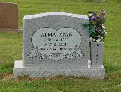 MCNIEL RYAN, ALMA - Greene County, Arkansas | ALMA MCNIEL RYAN - Arkansas Gravestone Photos