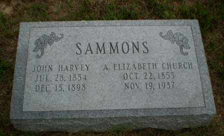SAMMONS, A. ELIZABETH - Greene County, Arkansas | A. ELIZABETH SAMMONS - Arkansas Gravestone Photos