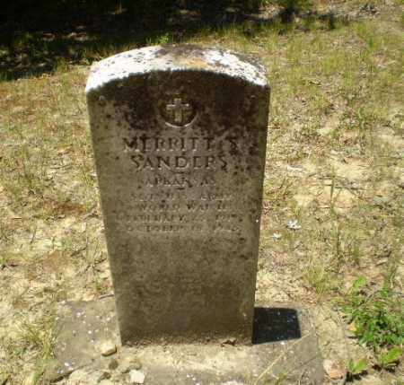 SANDERS (VETERAN WWII), MERRITT S - Greene County, Arkansas | MERRITT S SANDERS (VETERAN WWII) - Arkansas Gravestone Photos