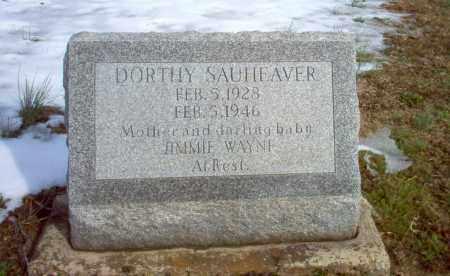 SAUHEAVER, DORTHY - Greene County, Arkansas   DORTHY SAUHEAVER - Arkansas Gravestone Photos