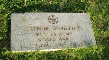 SCHILLING  (VETERAN WWI), ARTHUR - Greene County, Arkansas | ARTHUR SCHILLING  (VETERAN WWI) - Arkansas Gravestone Photos