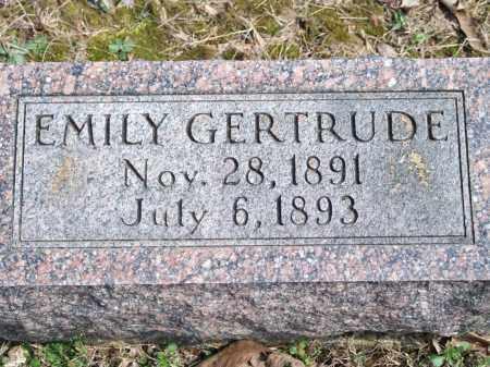 SCHISLER, EMILY GERTRUDE - Greene County, Arkansas | EMILY GERTRUDE SCHISLER - Arkansas Gravestone Photos