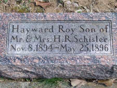 SCHISLER, HAYWARD ROY - Greene County, Arkansas | HAYWARD ROY SCHISLER - Arkansas Gravestone Photos
