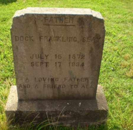 SEAY, DOCK FRANKLING - Greene County, Arkansas   DOCK FRANKLING SEAY - Arkansas Gravestone Photos