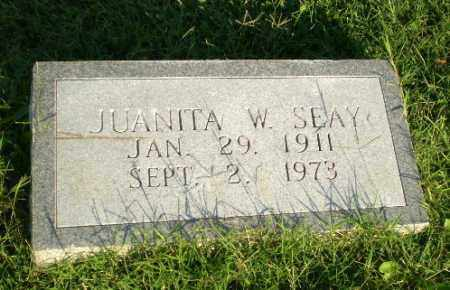 SEAY, JUANITA W - Greene County, Arkansas | JUANITA W SEAY - Arkansas Gravestone Photos