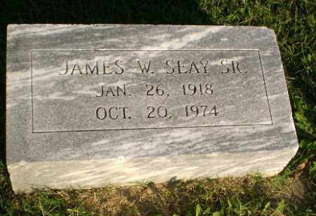SEAY, SR, JAMES W - Greene County, Arkansas | JAMES W SEAY, SR - Arkansas Gravestone Photos