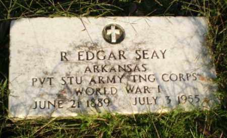 SEAY (VETERAN WWI), R. EDGAR - Greene County, Arkansas | R. EDGAR SEAY (VETERAN WWI) - Arkansas Gravestone Photos