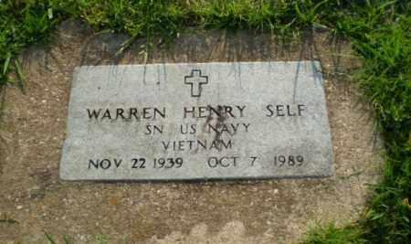 SELF  (VETERAN VIET), WARREN HENRY - Greene County, Arkansas | WARREN HENRY SELF  (VETERAN VIET) - Arkansas Gravestone Photos