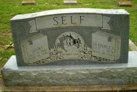 SELF, SELMA - Greene County, Arkansas | SELMA SELF - Arkansas Gravestone Photos