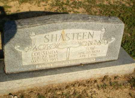 SHASTEEN, LOUSINDA - Greene County, Arkansas | LOUSINDA SHASTEEN - Arkansas Gravestone Photos