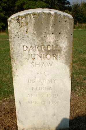 SHAW (VETERAN KOR), DARRELL JUNIOR - Greene County, Arkansas   DARRELL JUNIOR SHAW (VETERAN KOR) - Arkansas Gravestone Photos