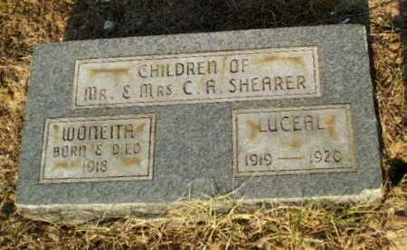 SHEARER, WONEITA - Greene County, Arkansas   WONEITA SHEARER - Arkansas Gravestone Photos