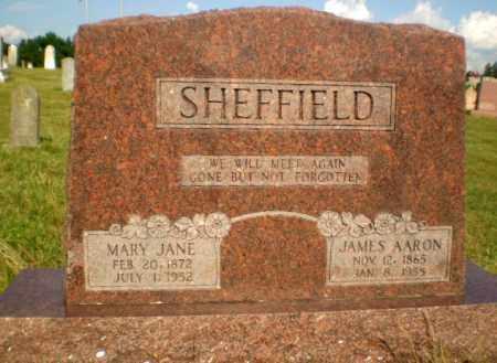 SHEFFIELD, JAMES AARON - Greene County, Arkansas   JAMES AARON SHEFFIELD - Arkansas Gravestone Photos