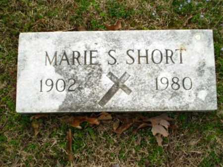 SHORT, MARIE - Greene County, Arkansas   MARIE SHORT - Arkansas Gravestone Photos