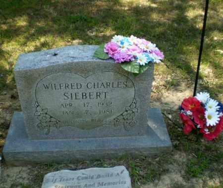 SIEBERT, WILFRED CHARLES - Greene County, Arkansas | WILFRED CHARLES SIEBERT - Arkansas Gravestone Photos