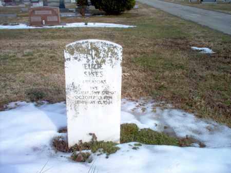 SIKES  (VETERAN), ELZIE - Greene County, Arkansas   ELZIE SIKES  (VETERAN) - Arkansas Gravestone Photos